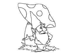 Small Picture Old and Wise Gnome Colouring Page Colouring Tube