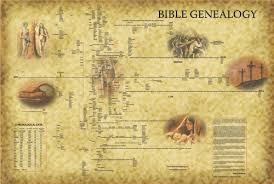 Biblical Wall Charts The Family Tree From Adam To Jesus