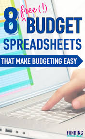 Budgeting Spreadsheet Free 8 Free Budget Spreadsheets That Will Upgrade Your Finances Today