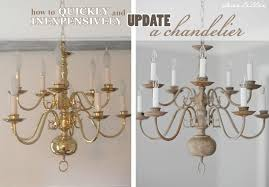 brass chandeliers outdated dear lillie making over a chandelier with chalk paint brass interior decorating