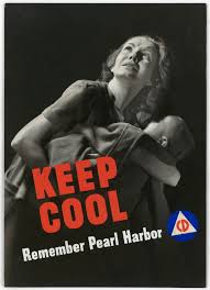 the office posters. United StatesKEEP COOL - Remember Pearl Harbor, Civil Defense Poster From The Office Of Emergency Management, Posters