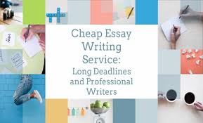Cheapest Essay Writing Service Cheap Essay Writing Service Long Deadlines And Professional