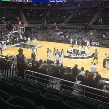 Breslin Center Section 109 Home Of Michigan State Spartans