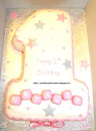 Birthday Cake Ideas For 2 Year Old Baby Girl First By Cakes Jungle