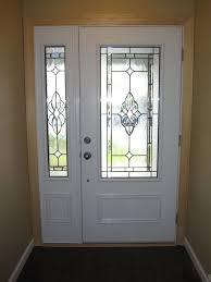 window door panel fiberglass entry door with one side panel front door side windows windows and