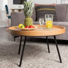 zuiver oak tray coffee table 2200009