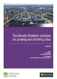 Growing And Shrinking The Density Dividend Solutions For Growing And Shrinking