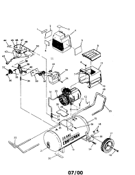 Wiring diagram for pressure switch on air pressor new 919 sears