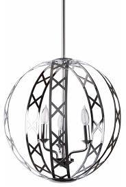 miseno 3 light orb chandelier