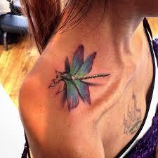 3d Dragonfly Tattoo Best Tattoo Design Ideas