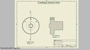 The joint command reduces the complexity of component relationships. Creating A Section View Autodesk Inventor Youtube