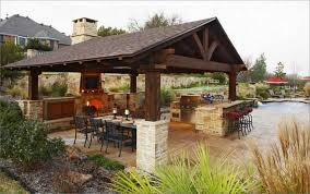 gallery of stupendous outdoor kitchen roof image