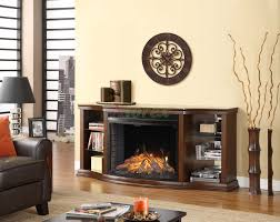 contessa cabinet fireplace low profile mantel w curved firebox