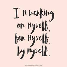 Loving Myself Quotes Simple Instagram Post By B L Janow Smuuggrl Quotes Pinterest