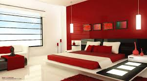 Red And White Bedroom Decorating Ideas
