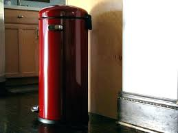 red trash cans step trash can kitchen cute kitchen trash cans photos to red kitchen trash