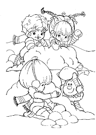 Small Picture Rainbow Brite Coloring Pages Printable Free Activities Sheets For