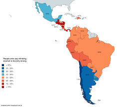 Latin Of In Mapporn Is Wrong 3268x2988 Percentage People Who Say Drinking Alcohol Morally America oc