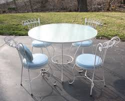White cast iron patio furniture Salterini White Wrought Iron Patio Furniture Dining Santorinisf Interior White Wrought Iron Patio Furniture Dining Santorinisf Interior