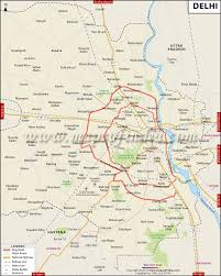 Hotel Delhi City Centre Delhi Map City Information And Facts Travel Guide