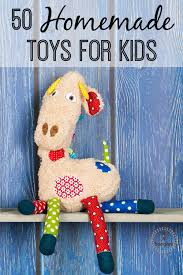 check out these diy ideas for 50 handmade toys for kids that i found i