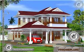 kerala style house floor plans 90