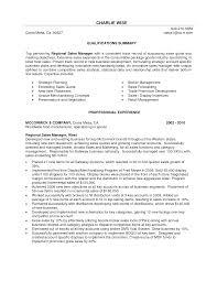 Regional Sales Manager Resume Essayscope Com