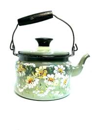 glass teapot stove top green enamelware tea kettle pot hand clear best stovetop canada