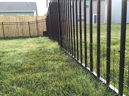 image of dog fence wire diy