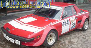 Imaculate and very good runing first series fiat 124 spider. Fiat X1 9 Rally Gr4 Ex Trivellato Racing For Sale