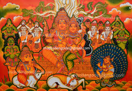 kerala mural paintings hd painting done by shaji kollene professional drawing although ee