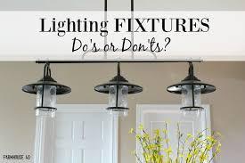 farmhouse kitchen lighting. Farmhouse Kitchen Lighting Dos And Donts A