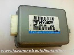 mr mitsubishi montero sport cruise control module mr490826 mitsubishi montero sport