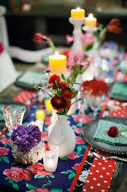 Fiesta Table Decorations Wedding Reception Ideas Table Decorations Mexican Wedding