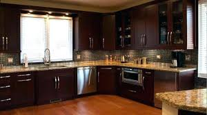 cherry and white kitchen cabinets cherry and white kitchen cabinet painting cabinets dark wood brown varnished