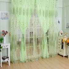 drapes with valance. Wishing Tree Beads Tassel Tulle Voile French Window Curtain Drapes Valance Curtains Fabric For With O