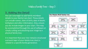 How To Make Family Tree On Chart Paper How To Make A Family Tree Chart