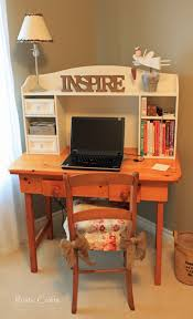 chic office design. My New Vintage Desk Set For A Shabby Chic Office Rustic Crafts Design