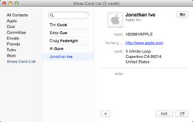 Christmas Card Mailing List Software The Slackers Guide To Christmas Card List Nirvana