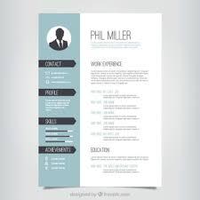 Resume Template Resume Design Templates Free Career Resume Template