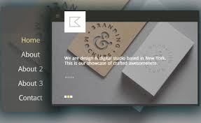 Free Creative Design Templates Free Creative Portfolio Website Template Multipage