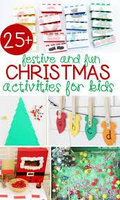 Christmas For Kids Festive And Fun Christmas Activities For Kids The Kindergarten