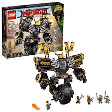 LEGO Ninjago Movie Quake Mech 70632 (1,202 Pieces) - Walmart.com - Walmart .com