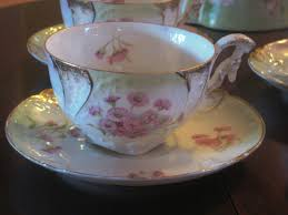 Decorating With Teacups And Saucers The Tielsch plates are outstanding for their bright contrasting 27
