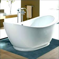 traditional master bathroom with simple marble tile floors in inside tub design a stand alone kohler incredible k 0 freestanding acrylic soaking bath tub