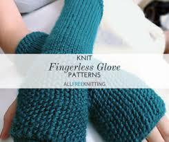 Free Fingerless Gloves Knitting Pattern