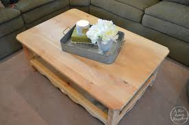Places To Coffee Tables A Mrs Among Magnolias New Life Old Coffee Table