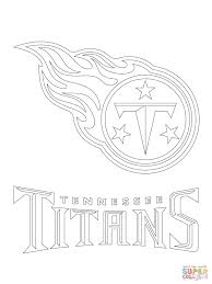 Tennessee Titans Logo Super Coloring