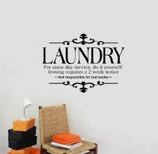 NEW Laundry for same day service do it yourself Wall Stickers lettering Vinyl decal decoration Art 640x640