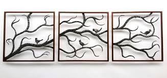 awesome large outdoor wall art metal metal birch three framed branch cute birds black modern home  on extra large metal outdoor wall art with wall art top ten gallery outdoor wall art metal outdoor metal wall